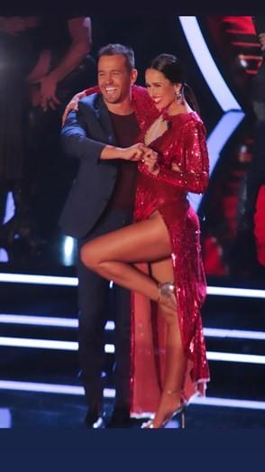 Rita Pereira sem cuecas no 'Dança com as estrelas'