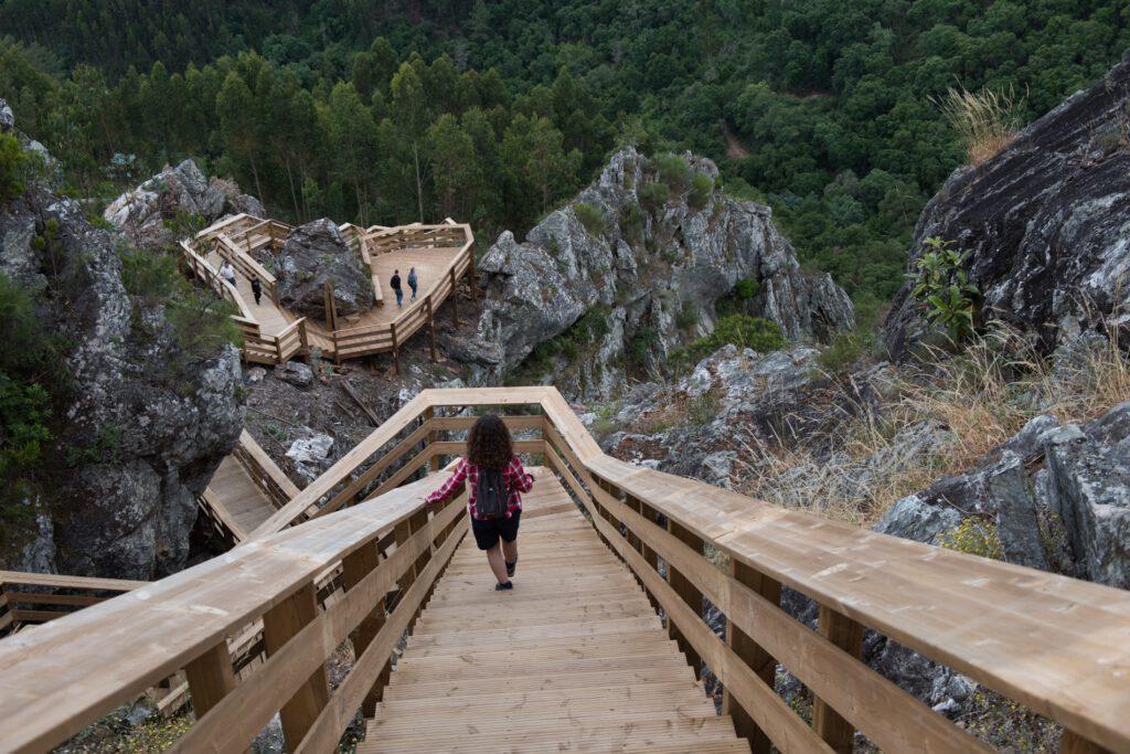 Passadiço das Fragas de São Simão já é considerado um dos melhores da Europa
