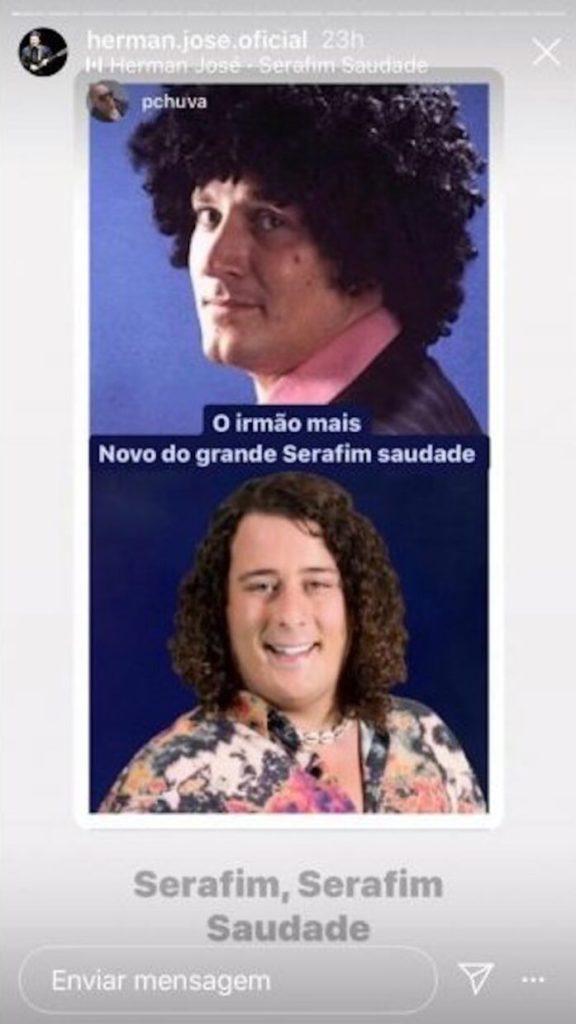 """Herman José """"gozou"""" com concorrente do Big Brother - A Revolução"""