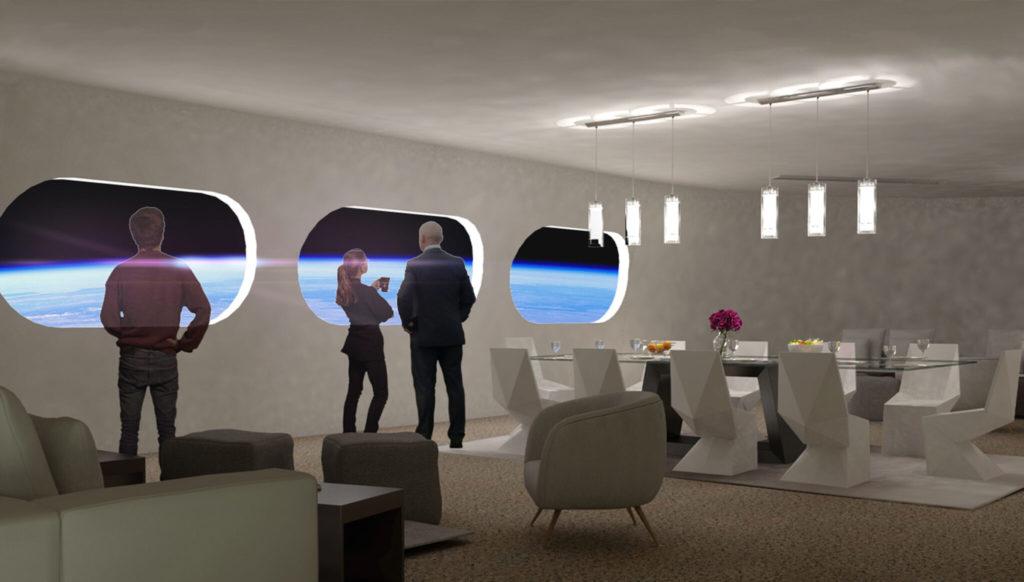 Veja as primeiras imagens do 1º Hotel Espacial que terá capacidade para 400 pessoas